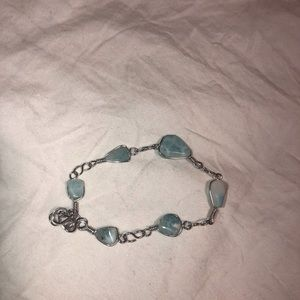 ❤️ 3/30$ Silver and natural stones bracelet